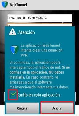 web tunnel 2016 internet gratis android
