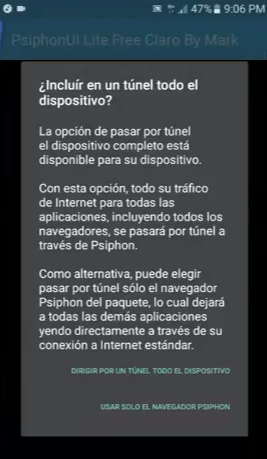 configuracion psiphon lite free by mark