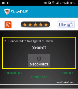 datos moviles con slowdns vpn apk claro
