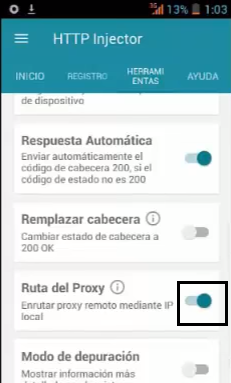 colombia servidores claro http injector