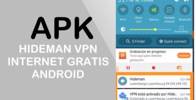 hideman vpn apk internet gratis android 4g ilimitado
